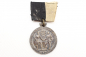 "Preview: Silver-plated bronze medal ""Graf Werder"" infantry regiment medal on a single ribbon clasp"