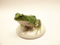 Preview: Rosenthal porcelain. Colored frog around 1928