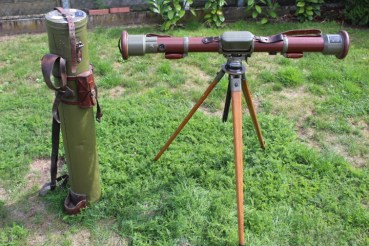 Wehrmacht rangefinder EM base 0.8m Wild Heerbrugg M / 1940 with tripods and transport container, WaA