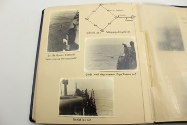 NJL estate NJL night hunting guide ship Togo, photo albums U760 Helmut Häusler, ship Rugard, Graf Zeppelin aircraft carrier, mine search group Schilksee, security flotilla group B