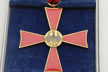 Federal Republic of Germany Federal Cross of Merit on ribbon in a case