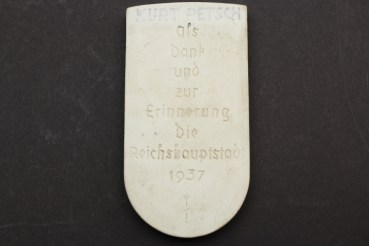 Kriegsmarine Togo NJL Nachtjagdtleitschiff commemorative plaque for the 700th anniversary Berlin 1237-1937