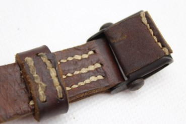 Carrying sling K98 rifle sling / carbine sling of the Wehrmacht incl. Frog with manufacturer, original