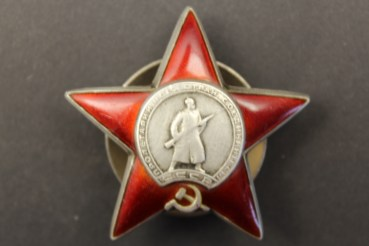 Medall USSR / Russia USSR, CCCP, Soviet Union - Order of the Red Star - Red Star Order with screw washer from 1930