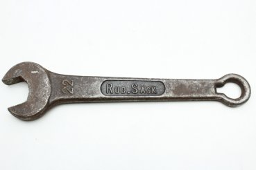 22 open-end wrench Rudolf Sack agricultural machinery tool kit classic car