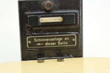 WW2 Reichsbahn track leveling device Dehnert and Pape