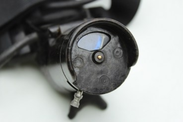Ww2 Wehrmacht lighting device for reticle, metal box with content,