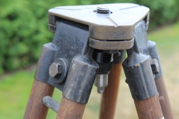 Wehrmacht wooden tripod for optical devices, observation devices, etc.