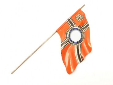 Imperial war flag for standard bearers, Elastolin figures