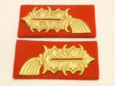 Pair of collar tabs General LSK / MfS