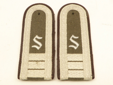 Pair of shoulder pieces for officers' officers Pioneers 3rd year of study, embroidered version