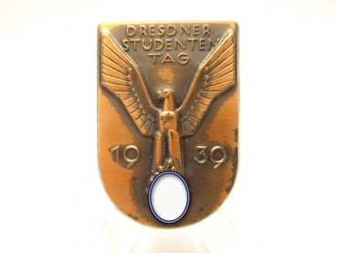 Conference badge Dresden Student Day 1939