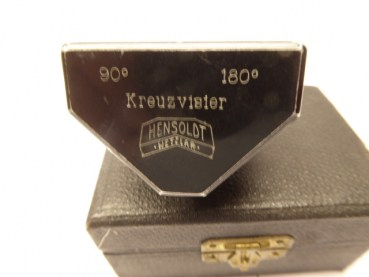 Angular prism, cross visor 90 ° 180 ° HENSOLDT WETZLAR in a case