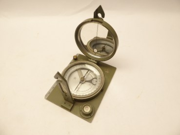 Geologists compass Land Saxony, compass with inclinometer
