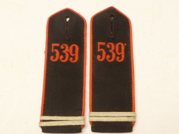 A pair of HJ shoulder pieces Rottenführer des Bann 539 Vöcklabruck, HJ area 29