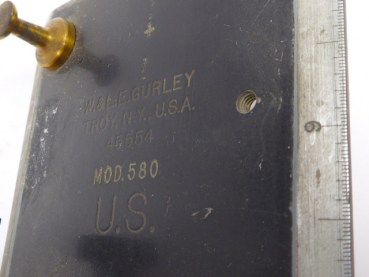 Optics - WWII U.S. Military (Navy) W. & LE Gurley. Model 508