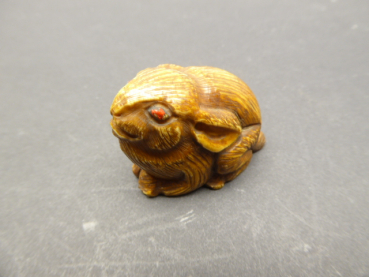 Netsuke Mythical Creature Rabbit 19th Century
