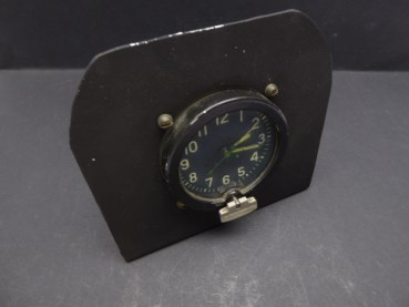 Russian built-in clock for aircraft, tanks or trucks, including stand