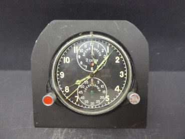 Russian aviator chronograph + time zone incl. Stand
