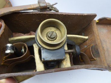 "England Heliograph WWII - Helio 5 ""Mark 5 in leather case"