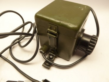 Battery box with reticle illumination and regulation for rangefinder, manufacturer Carl Zeiss Jena