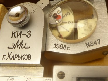 Planimeter with accessories in the box, Russian from 1968