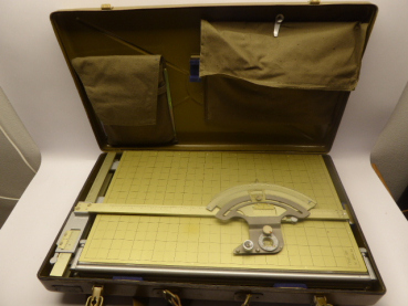 Soviet artillery fire control unit / fire control unit PUO - 9M with accessories in a case.