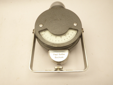 Measuring device of the weather department for airflow and anemometer, manufacturer Paul Gothe Bochum in bag