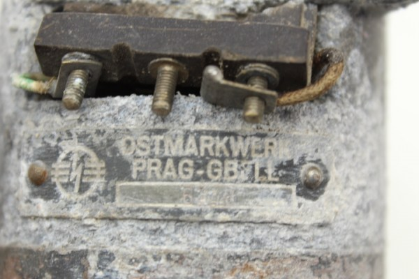 Reversing motor left-right, Ostmarkwerke Prague GBELL No. 6216