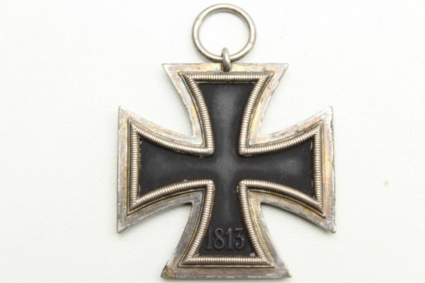 Ek2, Iron Cross 2nd class, manufacturer 24 with additional marking x