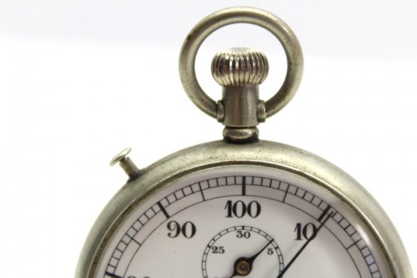 Pre-war war model Junghans stopwatch 1 - 2 WW navy - artillery - submarine, 2 drag pointers - rattrapante!