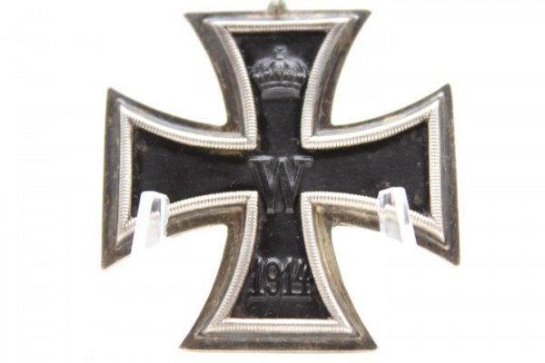 Iron Cross 2nd class Prussia 1914 - EK II 1914 manufacturer illegible