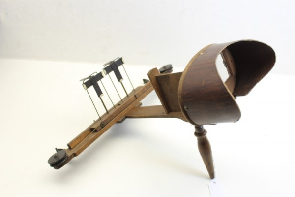 Spatial viewer, stereo viewer stereoscope around 1900