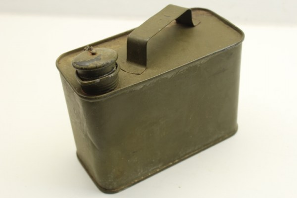 Wehrmacht MG 34/42 winter protectin oil canister