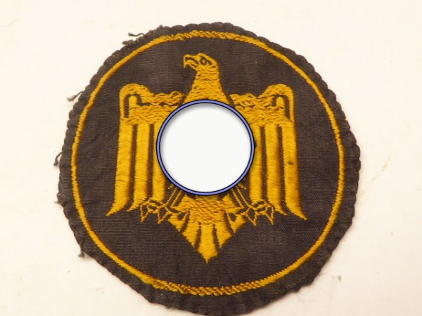 NRSL - National Socialist Federation for physical exercises - bronze in fabric