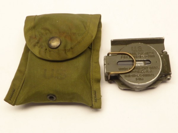 US compass with pocket 1966