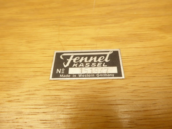 Fennel Kassel - Small measuring device No. 151947 - Made in Western Germany, in a case - rarity !!