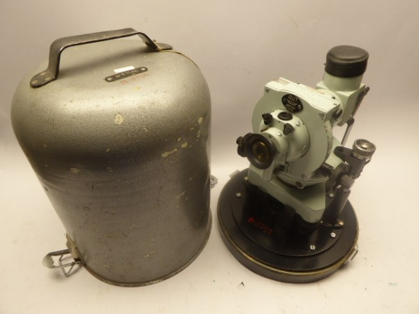 Russian balloon theodolite from 1973 in box