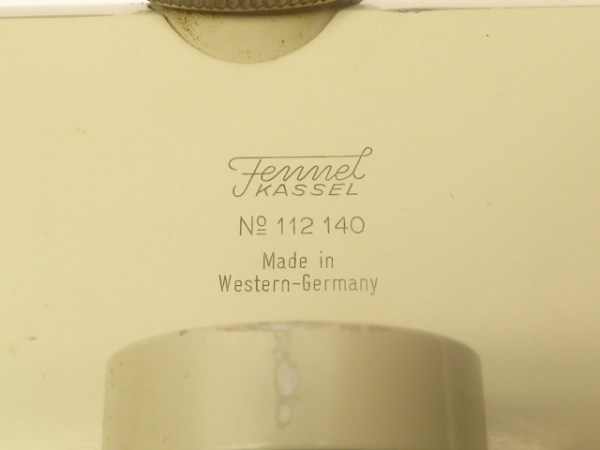 Fennel Kassel - Nivelliergerät mit Box - Made in West Germany