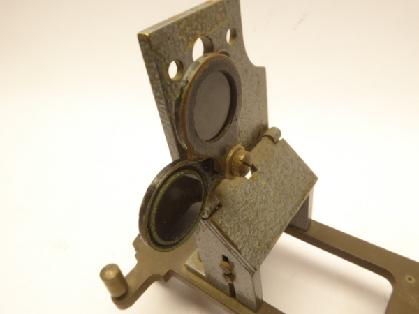 Direction finder attachment / Diopter - German Navy II. WK, sighting device for ship compass