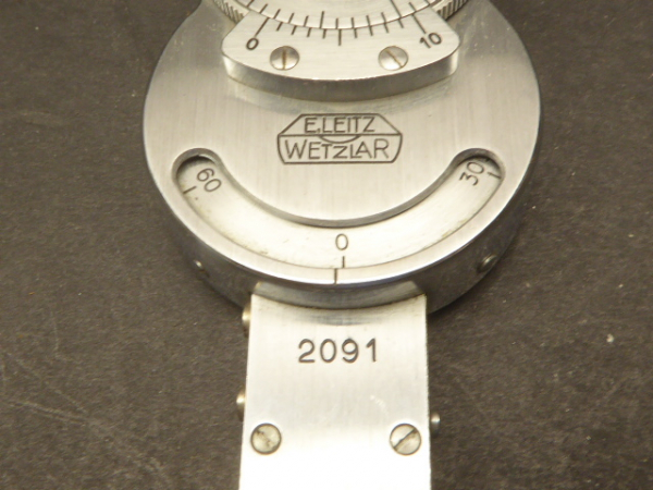 Leitz - Brace-Kohler compensator plate with 1/10 wave plate for polarization microscopy