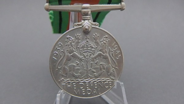 Großbritannien Great Britain British WW2 Defence Medal 1939-1945
