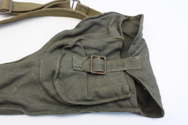 Ww2 Wehrmacht original bag with 6 mines warning flags