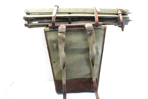 Wehrmacht Swiss carrying frame, shoulder carrying frame for the Wild TM3S stereo telemeter