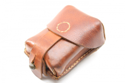 Magazine pouch brown leather similar to Stgw 57