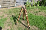 Ww2 German Wehrmacht tripod DAK, Africa, manufacturer cme and WaA, for optical device, theodolite