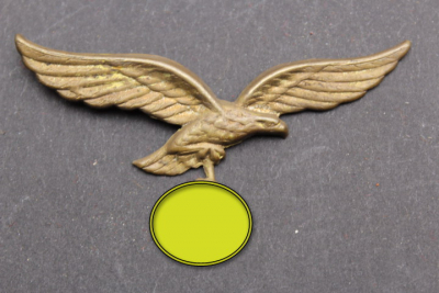 Luftwaffe cap eagle metal version, kopie