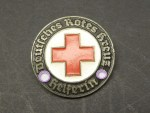 Badge / brooch - German Red Cross - helper