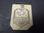 WHW badge - Day of the Wehrmacht Geb. Pi. Btl. 85 Salzburg