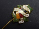 Badge / needle - Association of Germans in Bohemia - Sudetenland Czech Republic